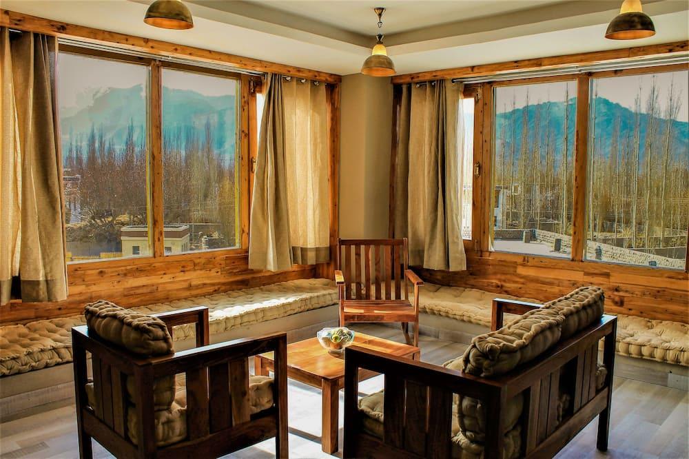 Junior Suite -Mountain View - 客廳