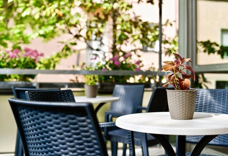 Hotel Kursaal, Bellaria-Igea Marina, Terrasse/Patio