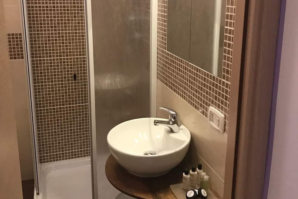 Romantische kamer, Balkon - Badkamer