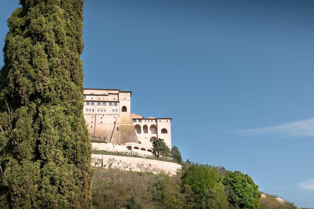 Четырехместный элитный номер, вид на сад - Вид на холмы