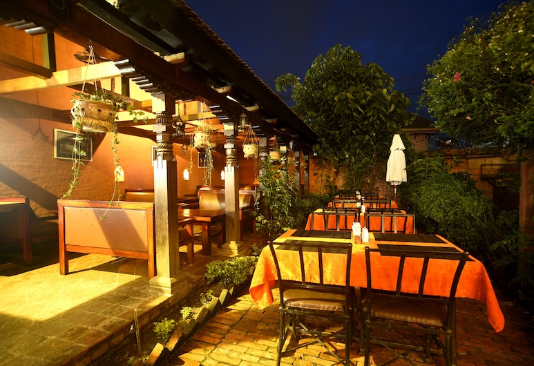 Vajra Guest House & Restaurant, Bhaktapur, Hotelový bar