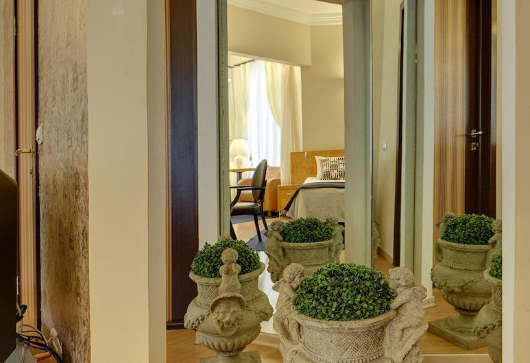 Anichkov Pension, St. Petersburg, Deluxe Double or Twin Room, City View, Bilik Tamu