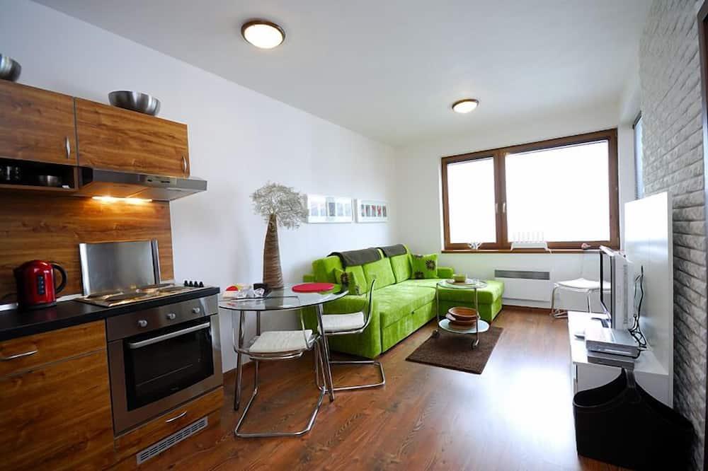 Apartamento, 1 Quarto, Varanda - Área de Estar