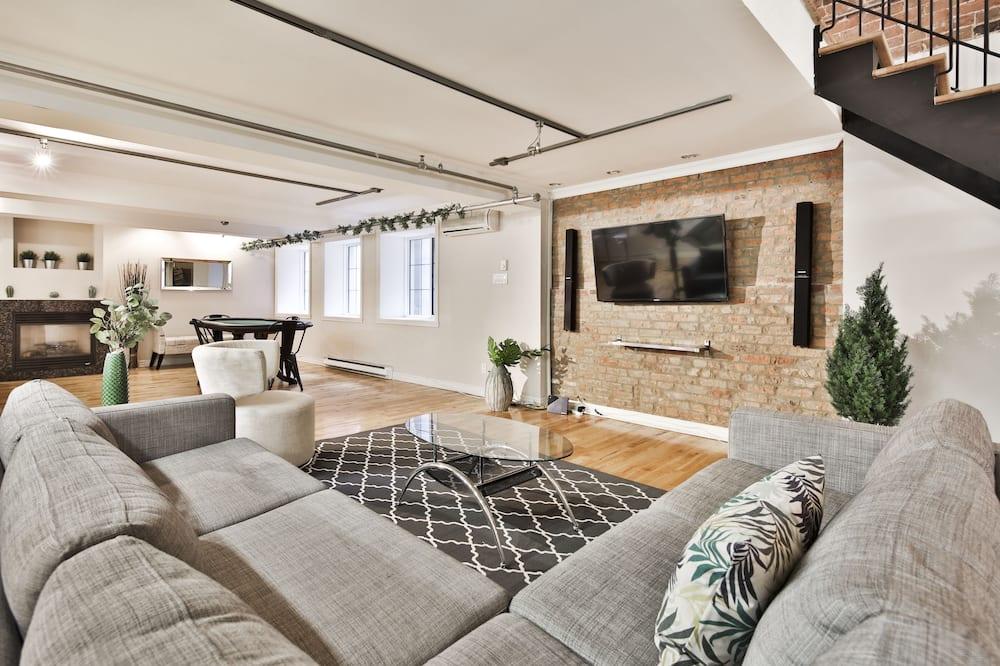 Çatı Katı Süiti (Penthouse) - Oturma Alanı