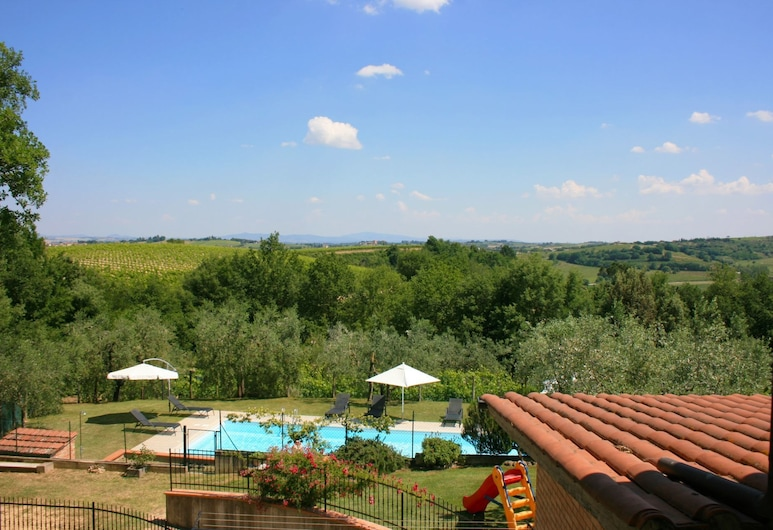 Wonderful Private Villa With Private Pool, TV, Pets Allowed and Parking, Close to Montepulciano, Montepulciano, View from property