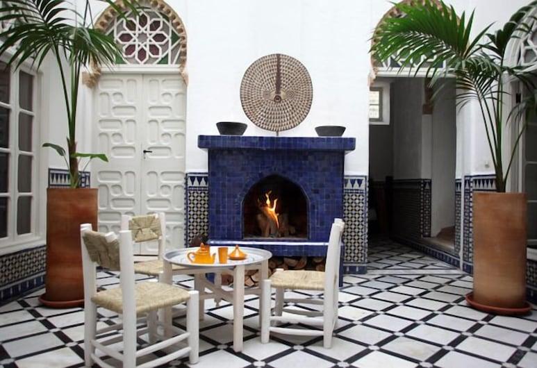 Riad Senso, Rabatas, Terasa / vidinis kiemas