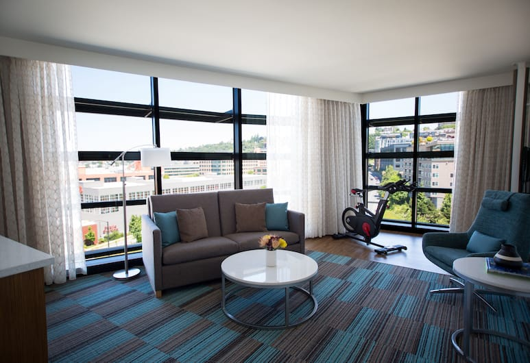 EVEN Hotel Seattle - South Lake Union, Seattle, Room, 1 King Bed, Non Smoking, Guest Room