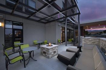 阿爾布奎克北阿布奎基日報中心萬豪春季山丘套房酒店的圖片