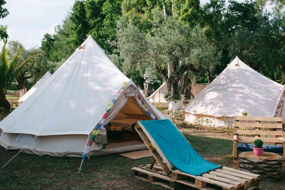 Deluxe Tent, Multiple Beds, Beach View - Terrace/Patio