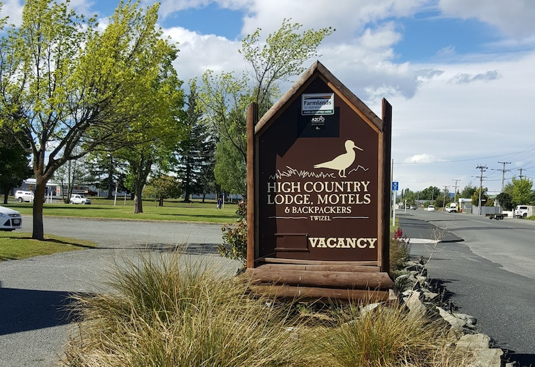 High Country Motel and Backpackers, Twizel