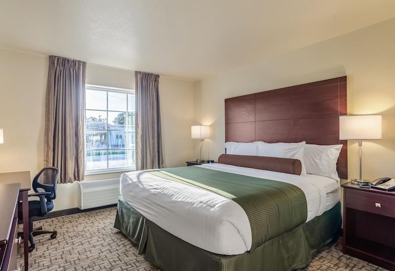 Cobblestone Inn & Suites - Bridgeport, Bridgeport, Kamar, 1 Tempat Tidur King, non-smoking, Kamar Tamu