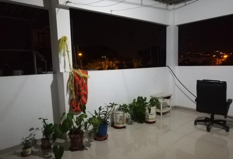 La Casita Morada, Cúcuta, Terrasse/Patio