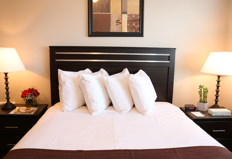 Autumn Leaf Furnished Apartments, Airway Heights, Premium Room, 2 Queen Beds, Non Smoking, Kitchen, Room