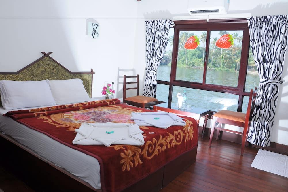 Habitación Deluxe con 1 cama doble o 2 individuales, 1 cama doble, vistas al lago - Zona de estar