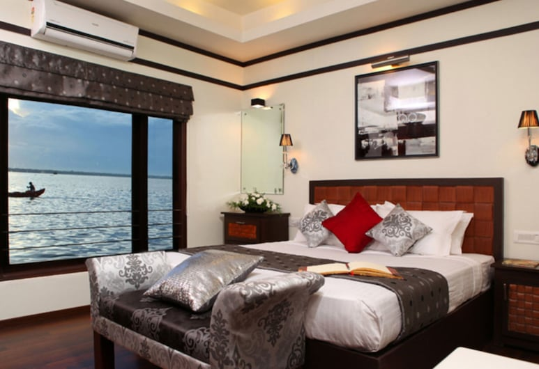 Cosy Houseboats, Alappuzha, Premium-Doppelzimmer, Mehrere Schlafzimmer, Seeblick, Zimmer