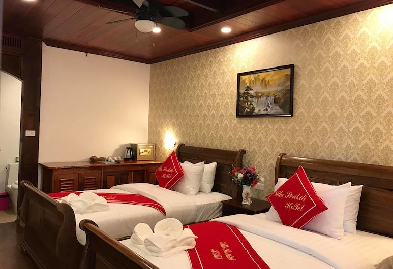 琅勃拉邦施里基里別墅酒店, 龍坡邦, 雙人或雙床房, 河景, 客房