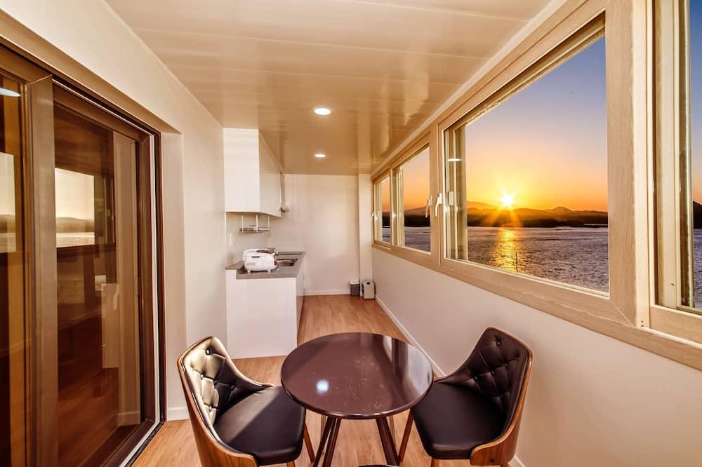 豪華雙床房, 海景 - 陽台