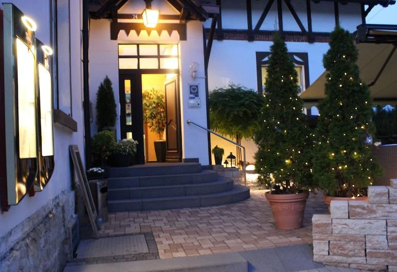 弗蘭肯塔爾飯店旅館, 格拉, 基本雙人房, 飯店正面