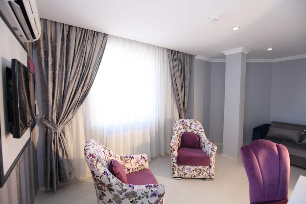 Apartament typu Suite, 2 sypialnie - Powierzchnia mieszkalna