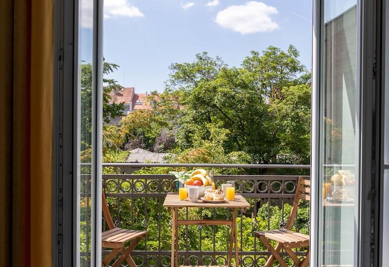 Tesla Boutique Apartments & Rooms , Zagreb, Comfort Apartment, 1 Bedroom, Petra Berislavica Street 13, Balkon