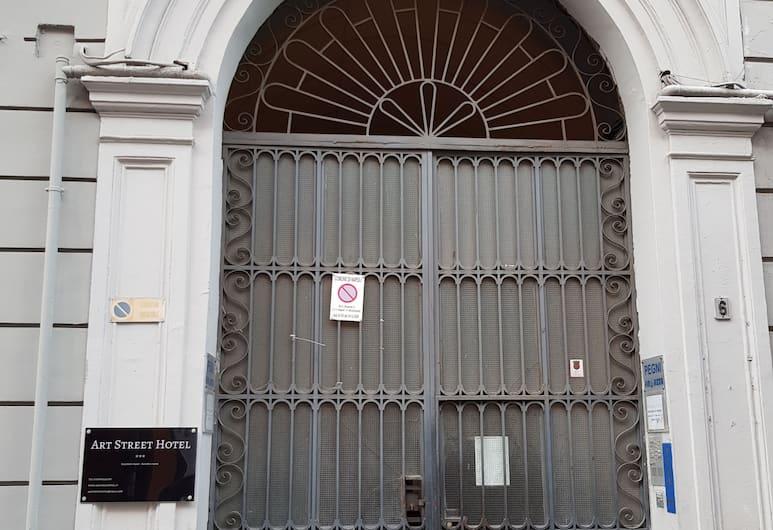 Art Street Hotel, Napoli, Hotellin julkisivu