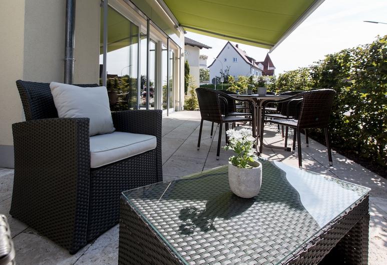 Hotel Bauer garni, Інгольштадт, Тераса/внутрішній дворик