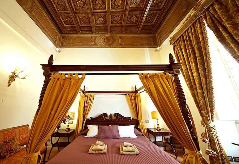 Residenza Sinibaldi, Rome, Appartement Deluxe, 5 chambres, Chambre