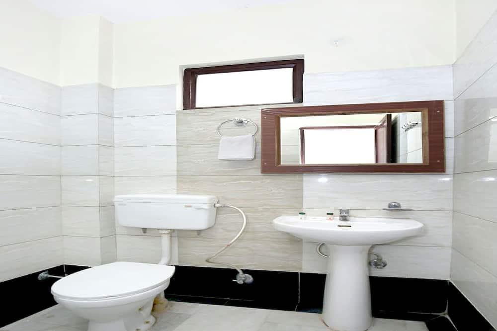 Doppel- oder Zweibettzimmer - Badezimmer