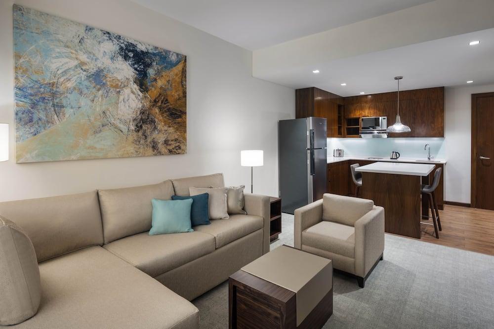 Phòng Suite, 1 phòng ngủ - Khu phòng khách