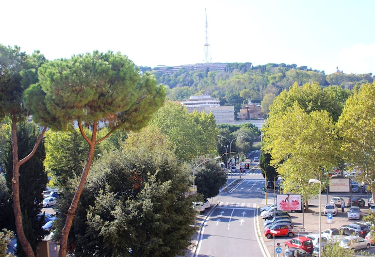 Mi.Ro Rooms, Rome, View from Hotel