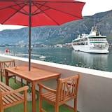 Paaugstināta komforta luksusa numurs, viena guļamistaba, apsildāms kubuls, skats uz jūru - Balkons