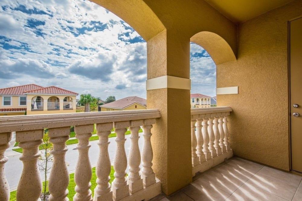 Apartmán, více ložnic - Balkón
