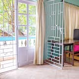 إستديو ديلوكس - سرير فردي منفصل - بشرفة - منظر للحديقة - شُرفة