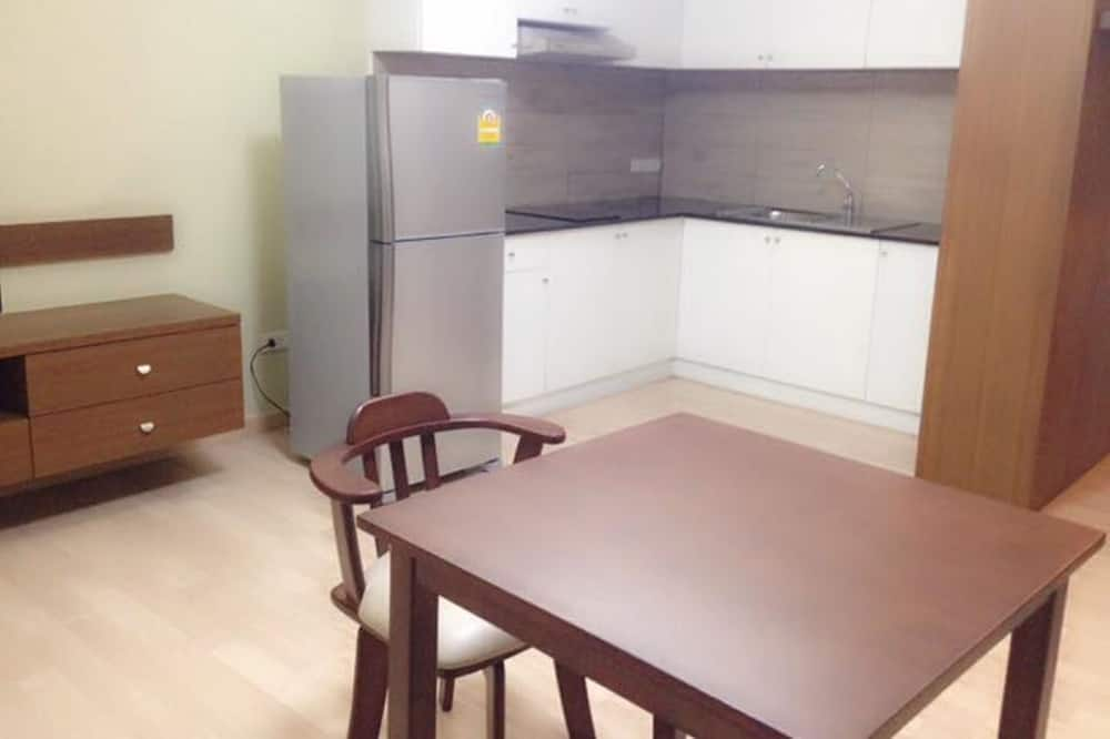 1 Bedroom without Balcony - Tempat Makan dalam Bilik