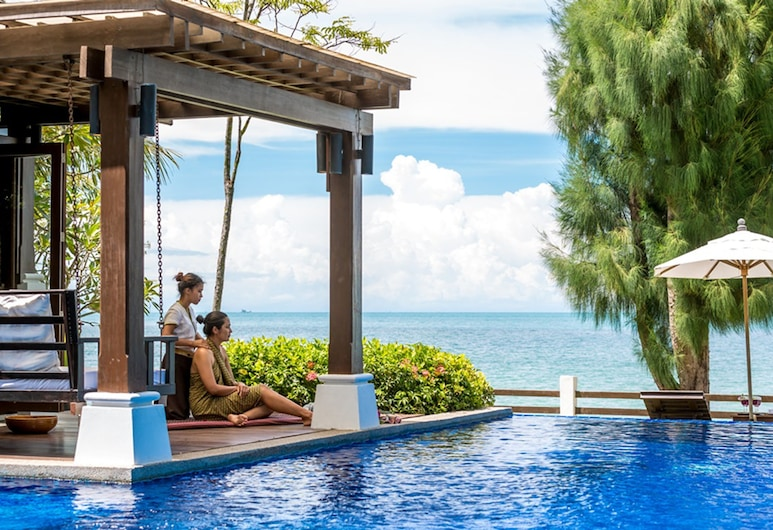 翡翠海灘別墅 4 號酒店, 蘇梅島, 奢華別墅, 陽台