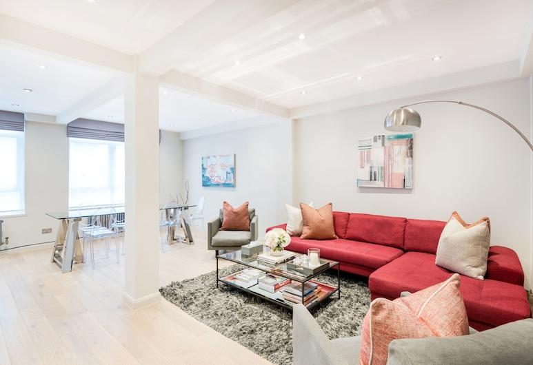 Buckingham & Lloyds, London, Elite-Apartment, 3Schlafzimmer, Wohnzimmer