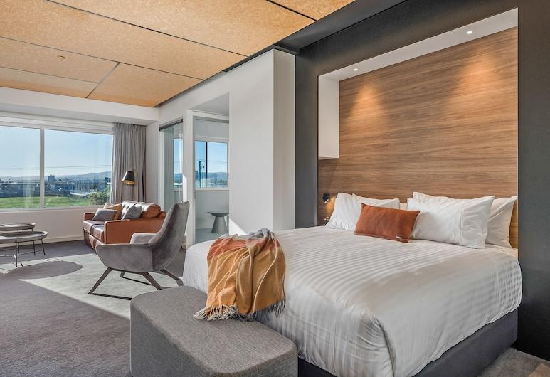 Peppers Silo Hotel, Invermay, Suite, Uitzicht op rivier (Tamar), Kamer