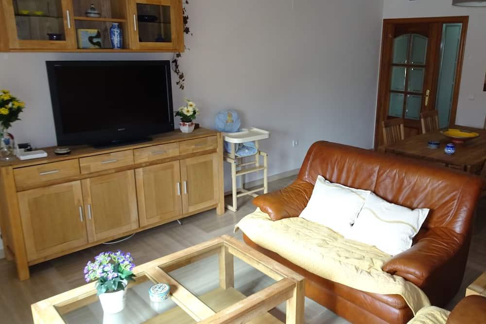 Apartament, 4 sypialnie - Salon