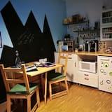 Classic apartman, pogled na vrt - Obroci u sobi