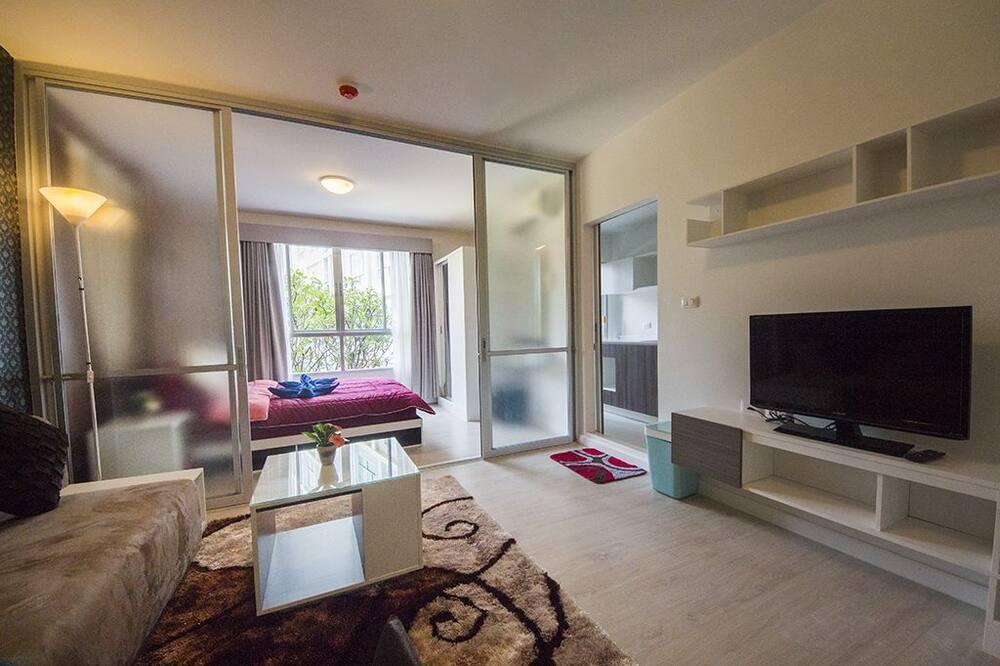 1 Bedroom Condo - Wohnzimmer