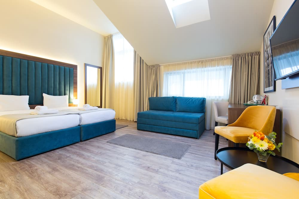 Pokój dwuosobowy z 1 lub 2 łóżkami typu Superior - Zdjęcie opisywane