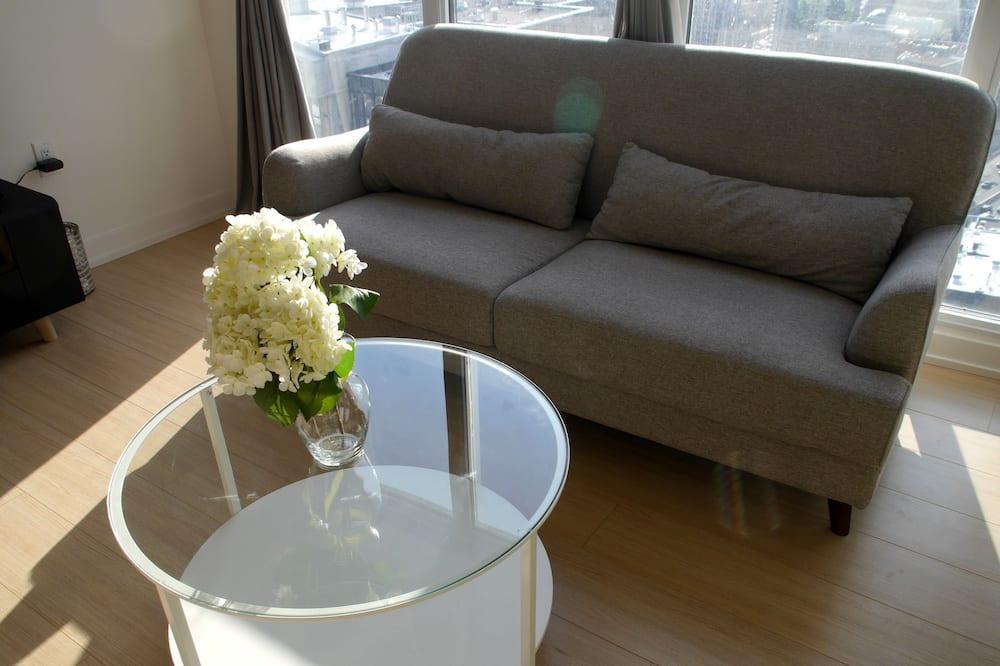 콘도 - 거실 공간