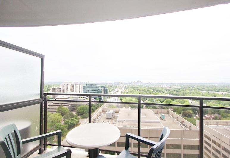 Pelicanstay at Yonge & Sheppard North York, Toronto, Suite, 1 Bedroom, Terrace/Patio