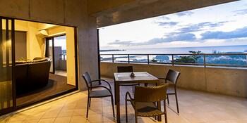 恩納風多卡多卡公寓陽台飯店的相片