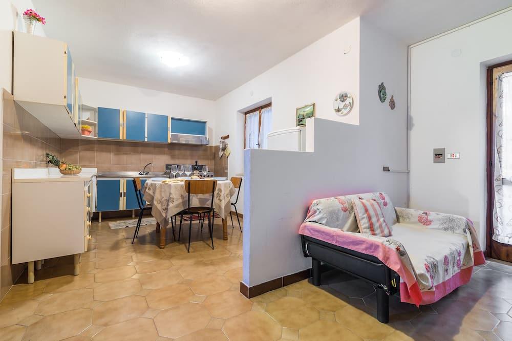 Dzīvokļnumurs, divas guļamistabas - Numura ēdamzona