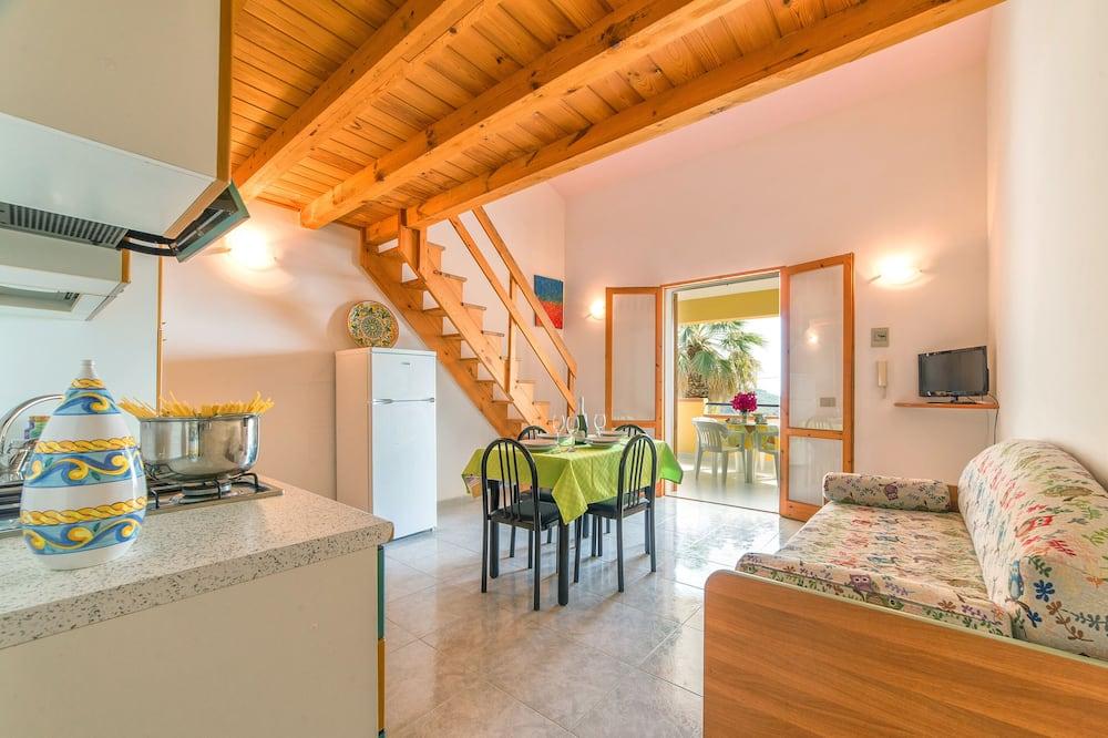 Duplex, Sea View - Living Area
