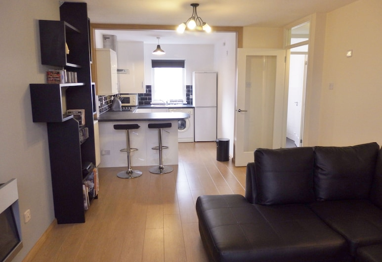 40 Salisbury Court Apartment, Belfast, City Apartment, 1 Double Bed with Sofa bed, Living Area