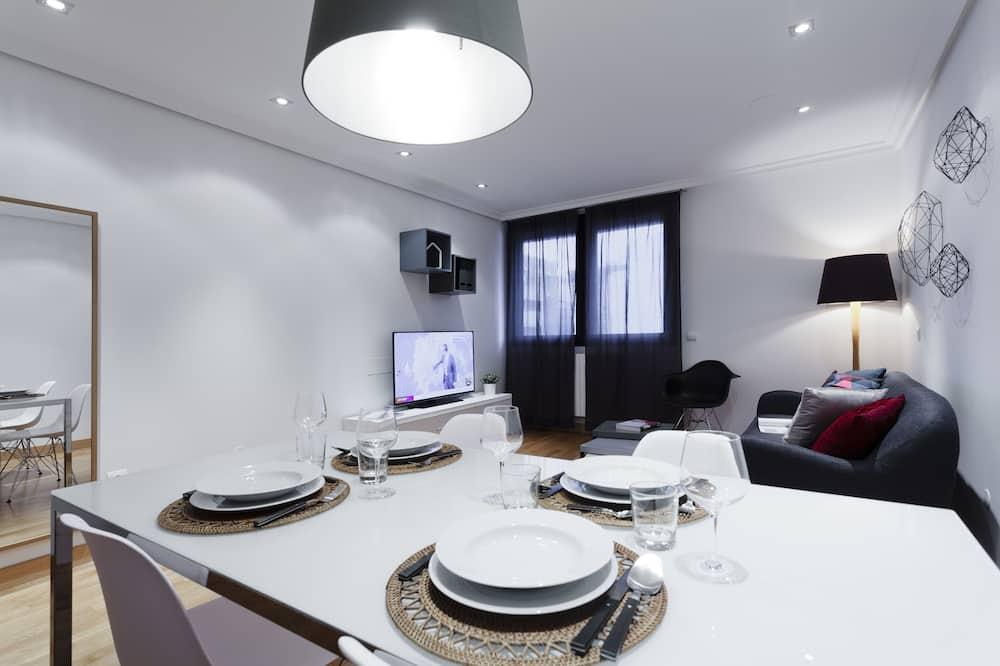 Apartment, 2Schlafzimmer - Essbereich im Zimmer