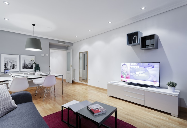 Ayala Apartment by FlatSweetHome, Madrid, Apartment, 2 Bedrooms, Living Room