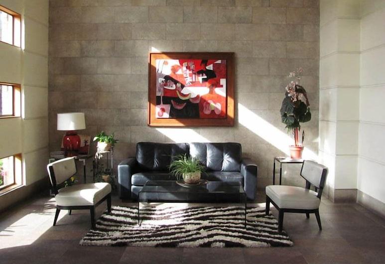 Apart Hotel Plaza Suite Cochrane, Concepcion, Lobi Oturma Alanı